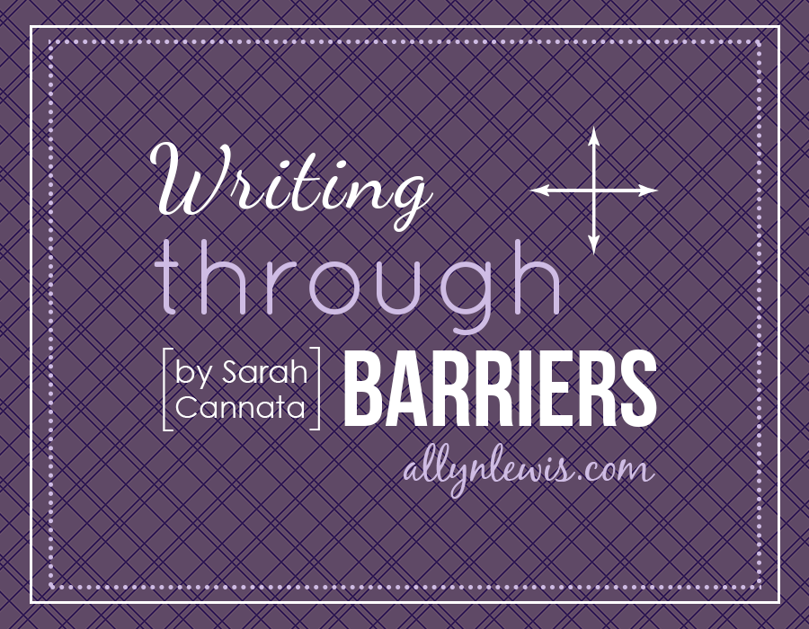 Writing Through Barriers to Live the Dream