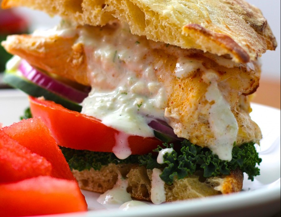 Greek Chicken Feta Burgers That Are SO Worth the Mess - The Gem