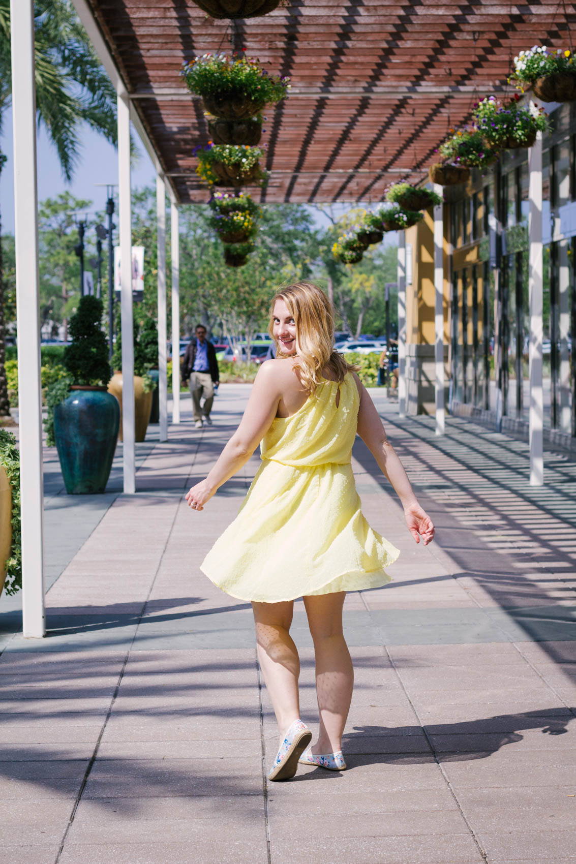 Now that we're finally coming out of what seemed like an eternity of winter, it's time to soak up the sun in cute dresses! My go-to is currently a gorgeous yellow swiss dot dress, but the most important thing when shopping for spring is that you find styles that make you happy!