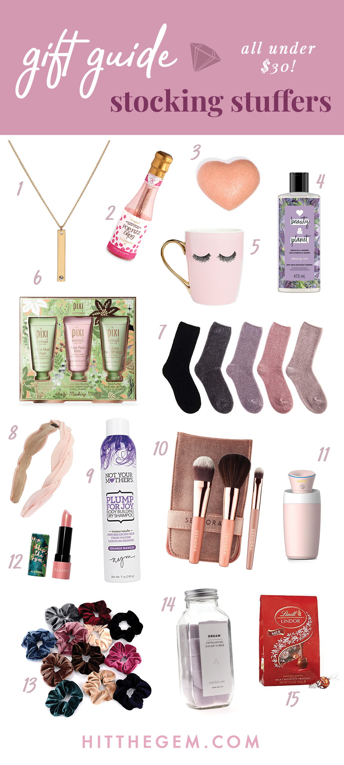 Cute Stocking Stuffer Ideas Holiday Gift Guide The Gem