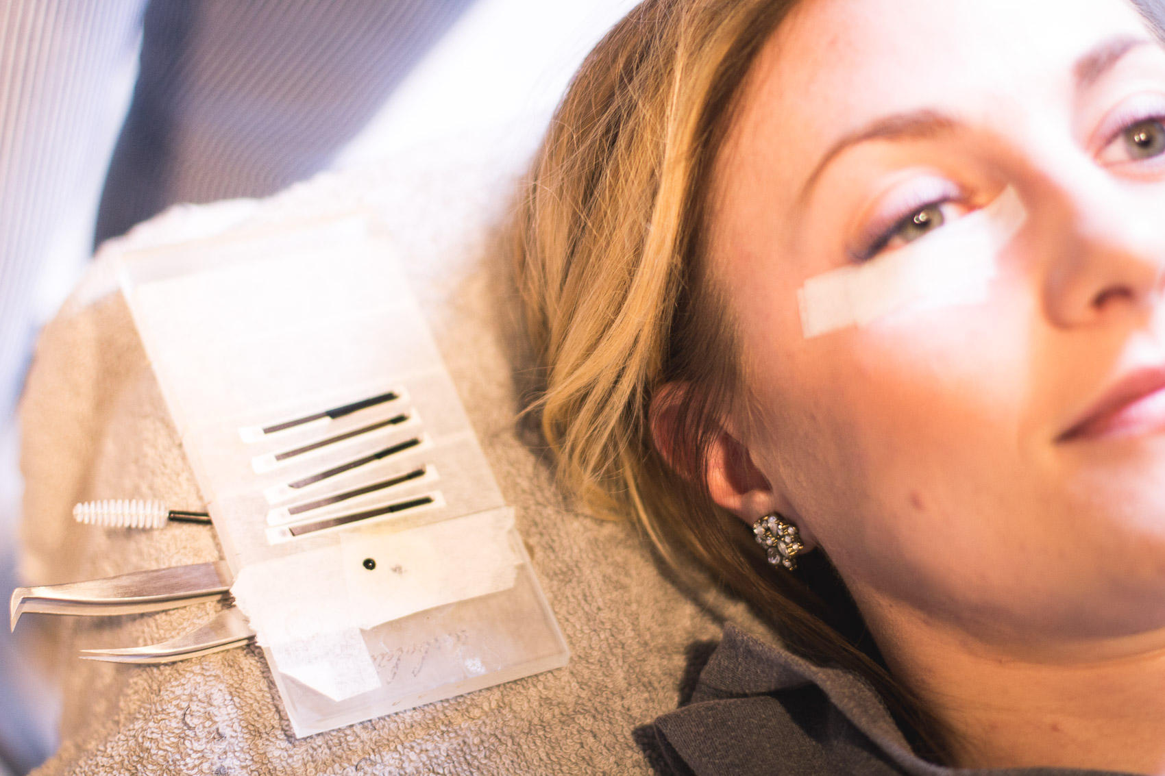 A lash extensions review from my recent experience at Swank Hair Studio in Pittsburgh including pros, cons, and answers to your most asked questions!